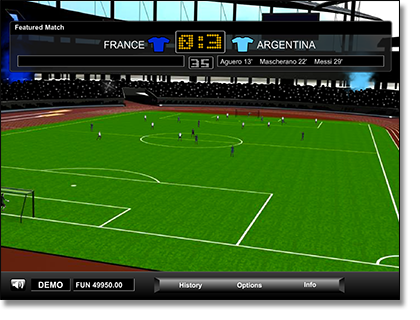 Play Virtual World Cup sports games online