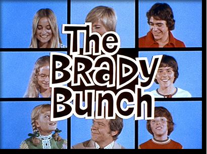 Brady Bunch Christmas Card.If The Brady Bunch Gambled