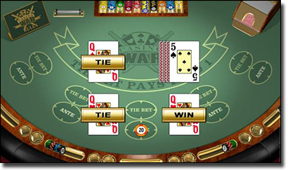 Casino War online for real money