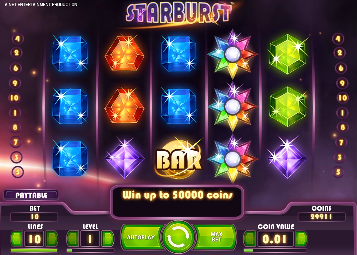 Starburst festival promotion at Leo Vegas