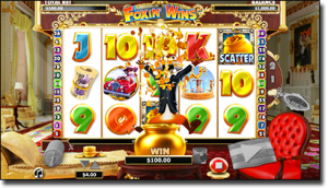 Foxin' Wins slots by NextGen