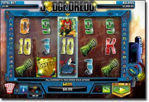 Play Judge Dredd pokies online