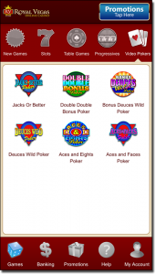 Royal Vegas Casino official mobile app