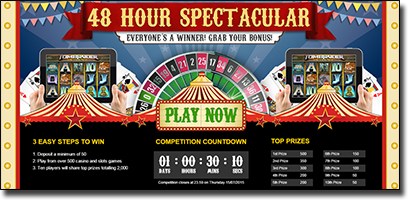 Roxy Palace casino player bonuses and promos
