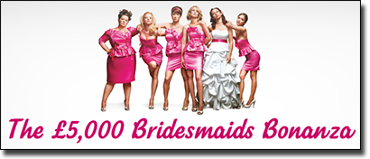 Bridesmaid Bonanza pokies promotion at 32Red Casino