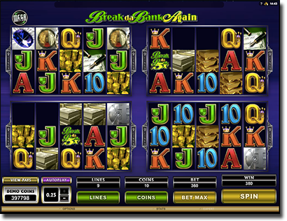 MegaSpin Break Da Bank online pokies