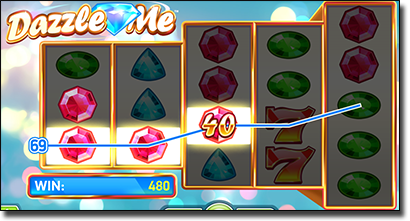 Dazzle Me mobile real money slots
