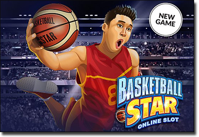 Basketball Star online slots now available at Guts Casino