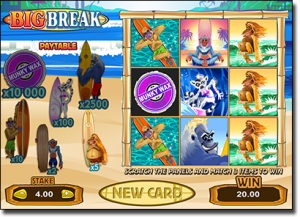 Big Break online scratch cards for real money