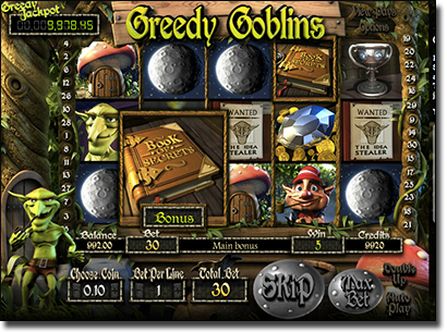 Greedy Goblins 3D pokies by BetSoft