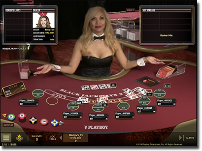 Playboy Bunny Live Dealer games