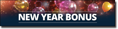 New Year 2016 Bonus promo at Roxy Palace Casino