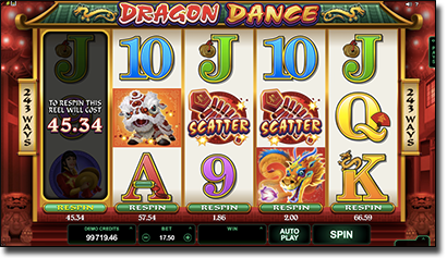 Dragon Dance online pokies