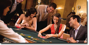 Table games at Crown Casino Melbourne