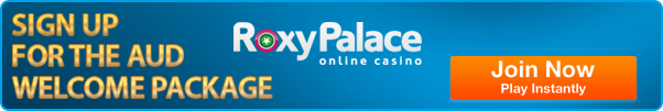 Roxy Palace Casino - Best AUD Microgaming casino site