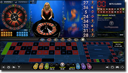 Extreme Gaming live dealer roulette games online