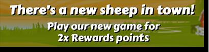 Bar Bar Black Sheep pokies double rewards points at RoyalVegasCasino.com