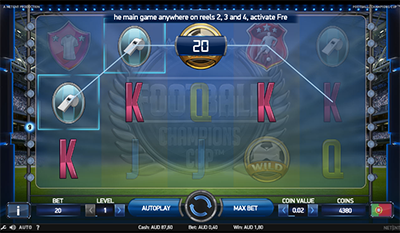 Football: Champions Cup online pokies