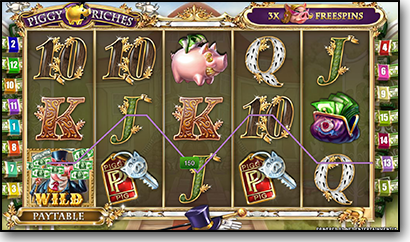 Piggy Riches online pokies by NetEnt
