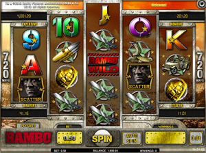 Rambo by iSoftBet - online pokies based on popular film