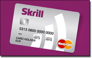 Skrill e-Wallet deposit option at best online casinos