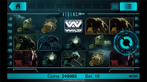 Aliens by NetEnt - online pokies based on popular film