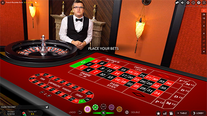 Live French Roulette Gold