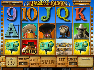 Jackpot Rango by iSoftBet - online pokies based on popular film