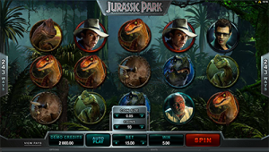 Jurassic Park by Microgaming - online pokies based on popular film