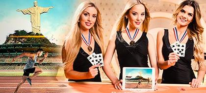 Leo Vegas Rio 2016 Summer Games promo