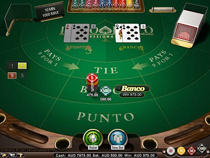 NetEnt Punto Banco Pro