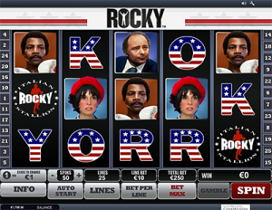Rocky by iSoftBet - online pokies based on popular film