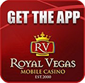 Royal Vegas mobile app for iOS