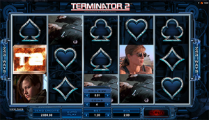 Terminator II by Microgaming - online pokies based on popular film