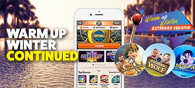 Leo Vegas Warm Up Winter promotion