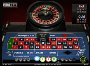 French Roulette online by NetEnt