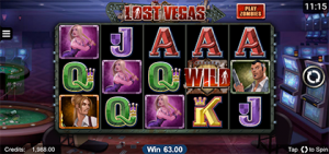 Lost Vegas mobile pokies