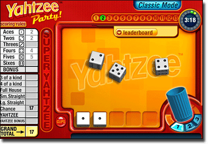 Yahtzee online for real money